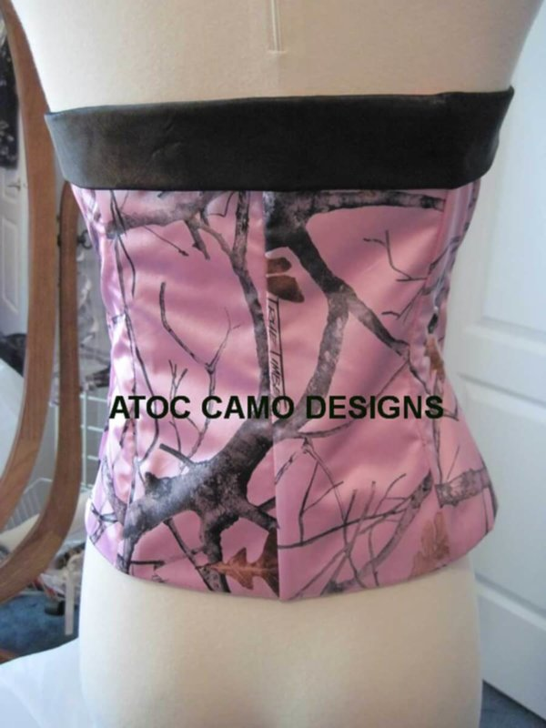 AE-T-1 Camisole Standard Back Camo Bridesmaid Camisole (image)