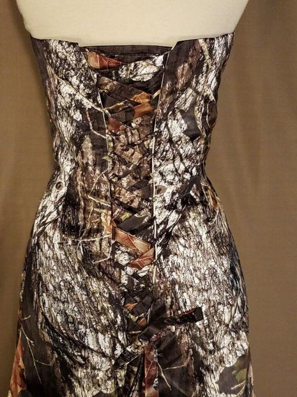 ATOC-0311C-IS-MOBU-16 Michelle Bodice Back Camo Gown (image)