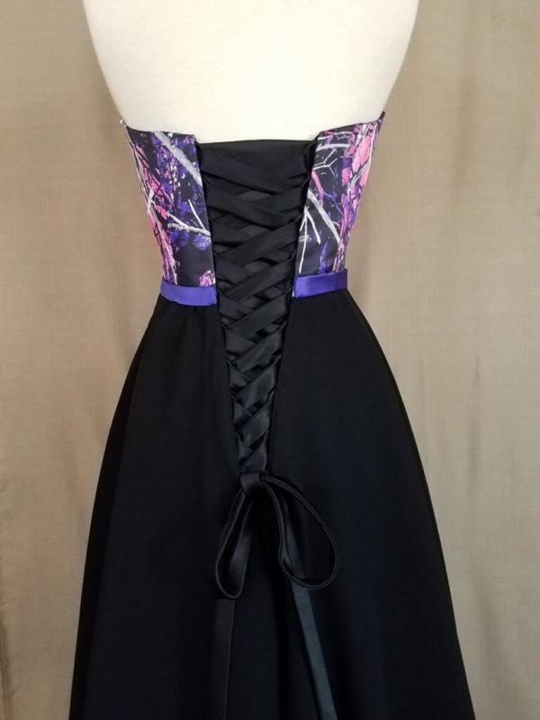 ATOC-0515B-IS-MSMGCP,BLK-12 Kelci Bodice Back Camo Bridesmaid Dress (image)