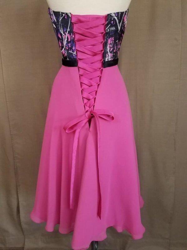 ATOC-0515B-IS-MSMGCP,PNK-16 Kelci Bodice Back Camo Bridesmaid Dress (image)