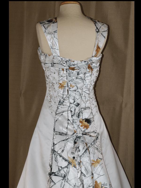 ATOC-0910 Elizabeth TTSF Bodice Back Camo Gown (image)