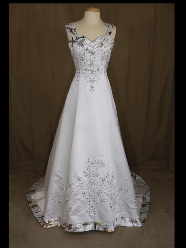 ATOC-0910 Elizabeth TTSF Full Front Camo Gown (image)