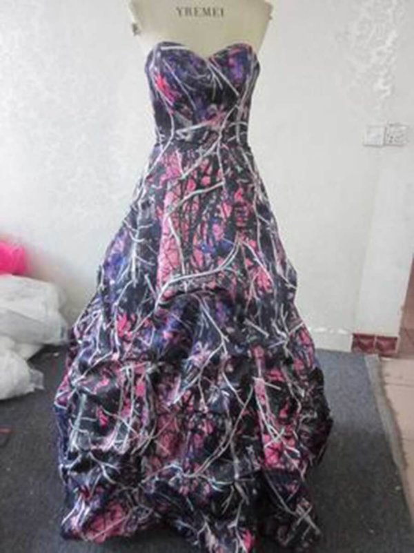 ATOC-32 Courtney Full Front Muddy Girl Camo Gown (image)