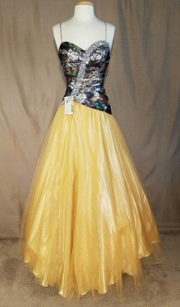 Camo Dress Full Skirt Isabella