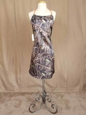 Halter Style Camo Dress Zoe