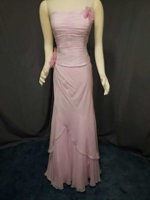 2 Piece Pink Prom Dress Alyce