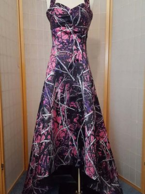 Pink Camo Dress Halter Liz