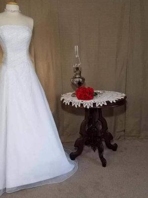 Corset Wedding Dress Organa