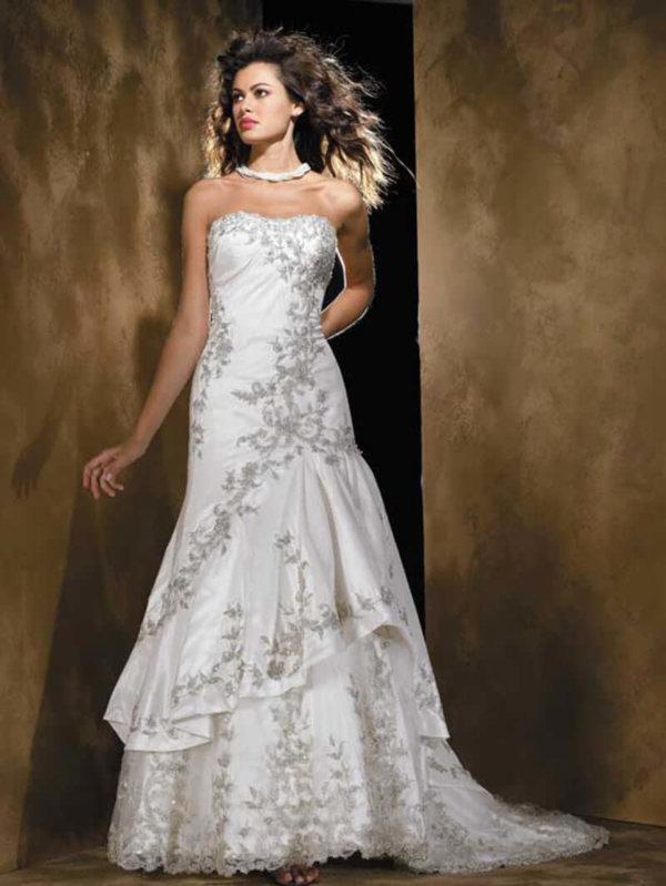 Strapless Wedding Gown Alexandra