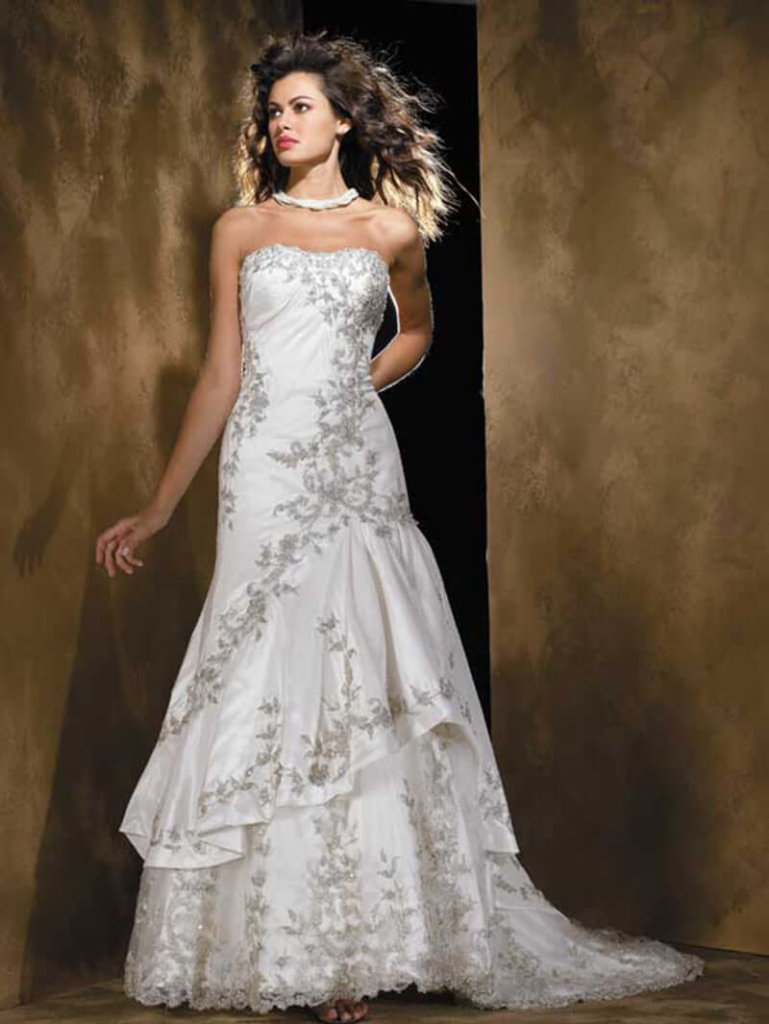 Strapless Wedding Gown Alexandra