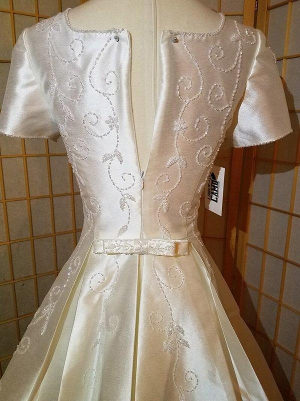 Modest Wedding Dress Emily Bodice Back Zipper
