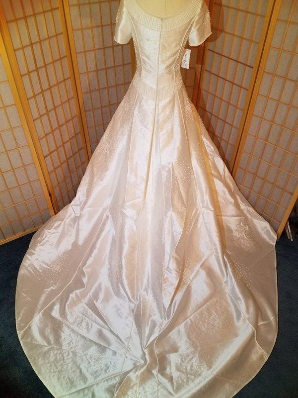 Modest Wedding Gown Hannah Train