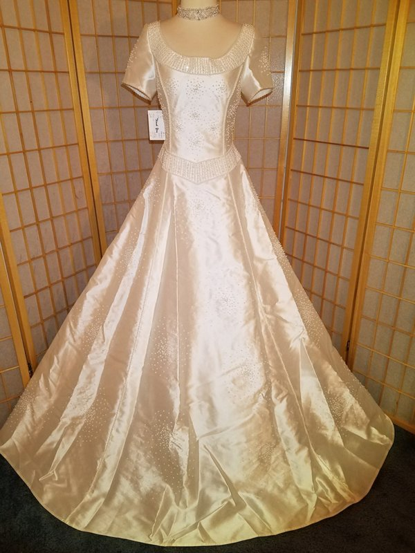 Modest Wedding Gown Hannah Front