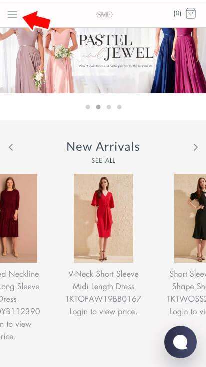 SMC Fashion Site