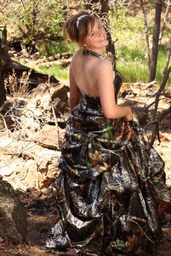 ATOC-0311A Holly Full Back Camo Bridesmaid Dress (image)