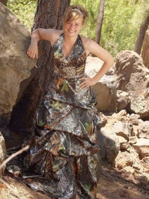 ATOC-0311A Holly Full Front Camo Bridesmaid Dress (image)