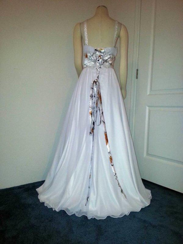 ATOC-0515D Nicole Full Back Camo Gown (image)