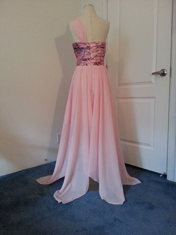 ATOC-1113B Tammy Full Back Camo Bridesmaid Dress (image)